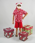 Santa Claus Outfit Set (Summer)