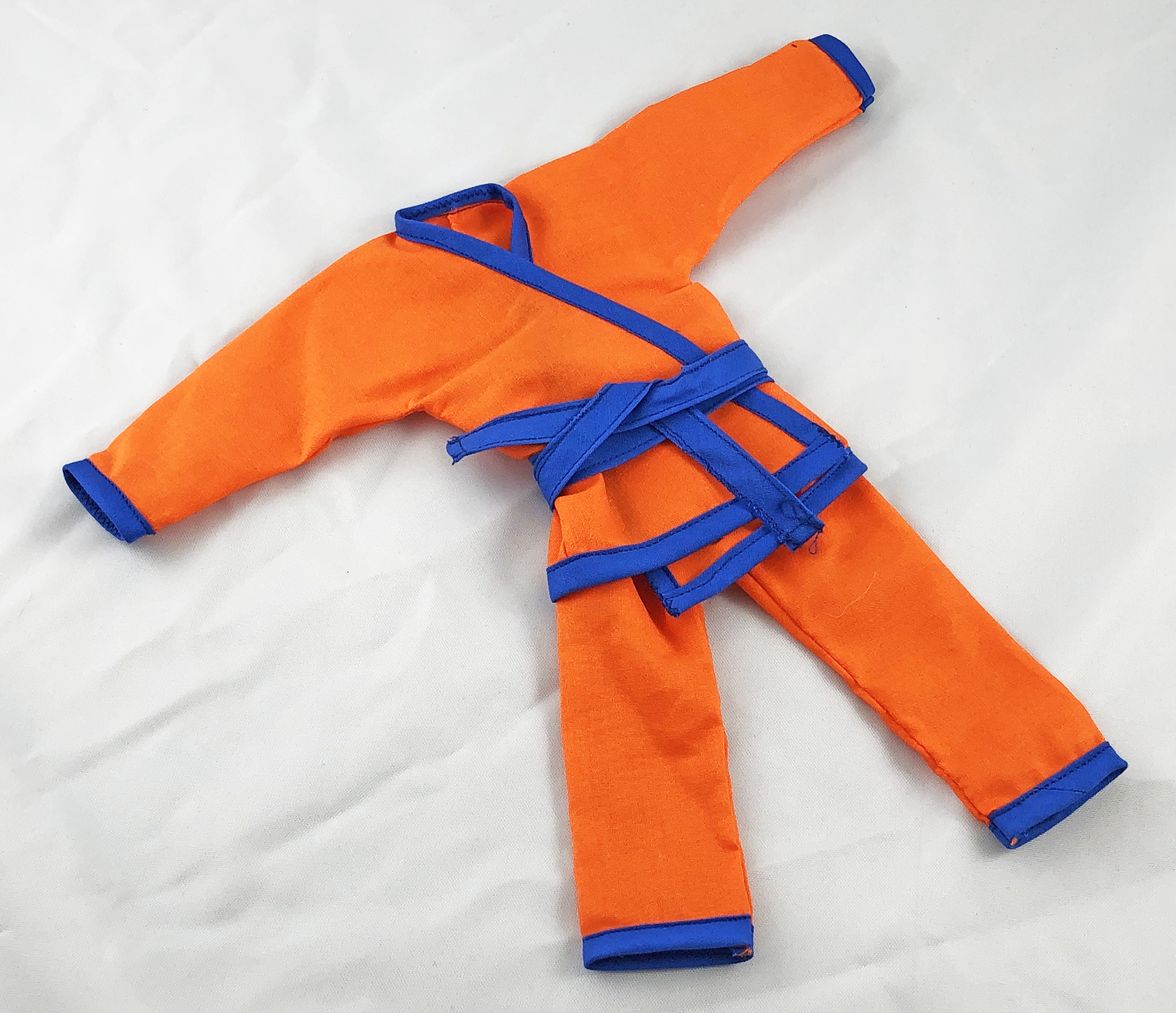 Long Leg Karate Competition Set (Orange/Blue)