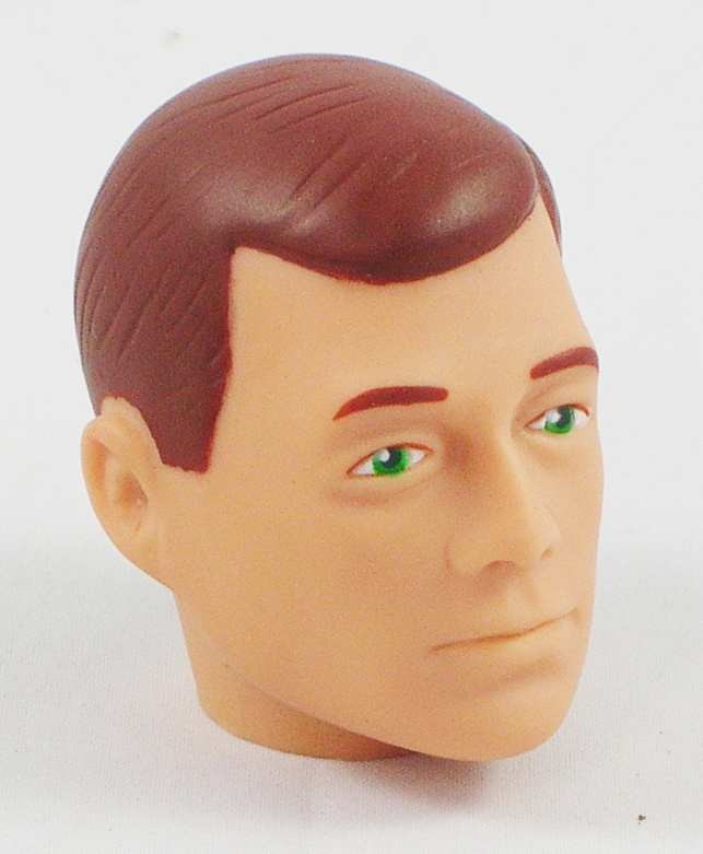 Head – Jake Red Painted <BR>(Green Eyes)