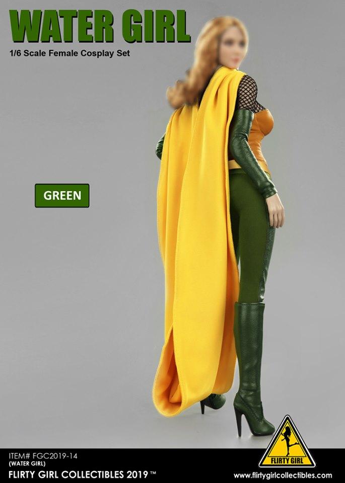 "Flirty Girl FGC2019 1//6 Scale Cosplay Clothing Set Corset Model for 12/"" Figure"