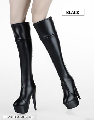 Flirty Girl Collectibles FGC2019-7 1//6 Female High Boots For 12/'/' Figure Body
