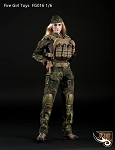 Female Tactical Uniform Set (Flektarn Camo)