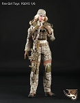 Female Tactical Uniform Set (Desert Digital  Camo)