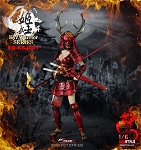 Warring States of Japanese Women Warrior Suit (Red)<BR>PRE-ORDER: ETA Q3 2018