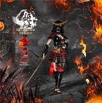 Warring States of Japanese Women Warrior Suit (Black)<BR>PRE-ORDER: ETA Q3 2018