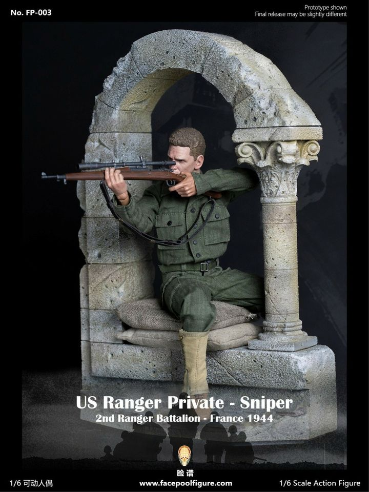 WWII US Army Ranger Sniper (Special Edition)<BR>PRE-ORDER: ETA Q1 2021