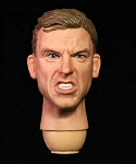 Male Head Sculpt (Angry Expression)<BR>PRE-ORDER: ETA Q2 2018