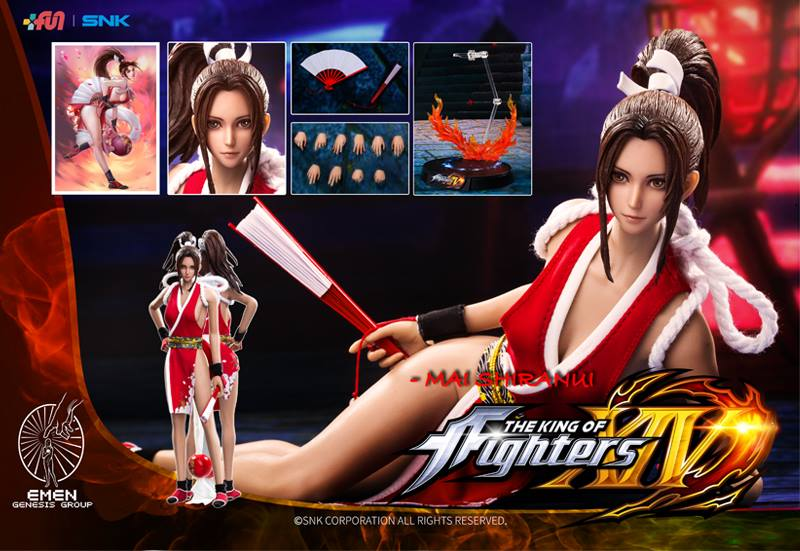 Mai Shiranui 1 6 Scale King Of Fighters Series Gigen Kofms01