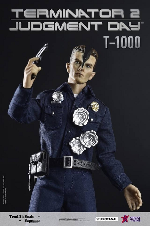Terminator 2: Judgement Day – T-1000 (Deluxe ) (1:12 Scale)<BR>PRE-ORDER: ETA Q3 2019<BR>WAIT LIST