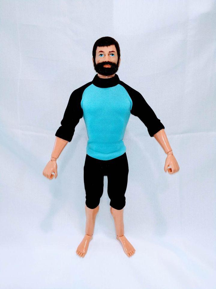 1//6th Scale GI Joe Dress Black Socks