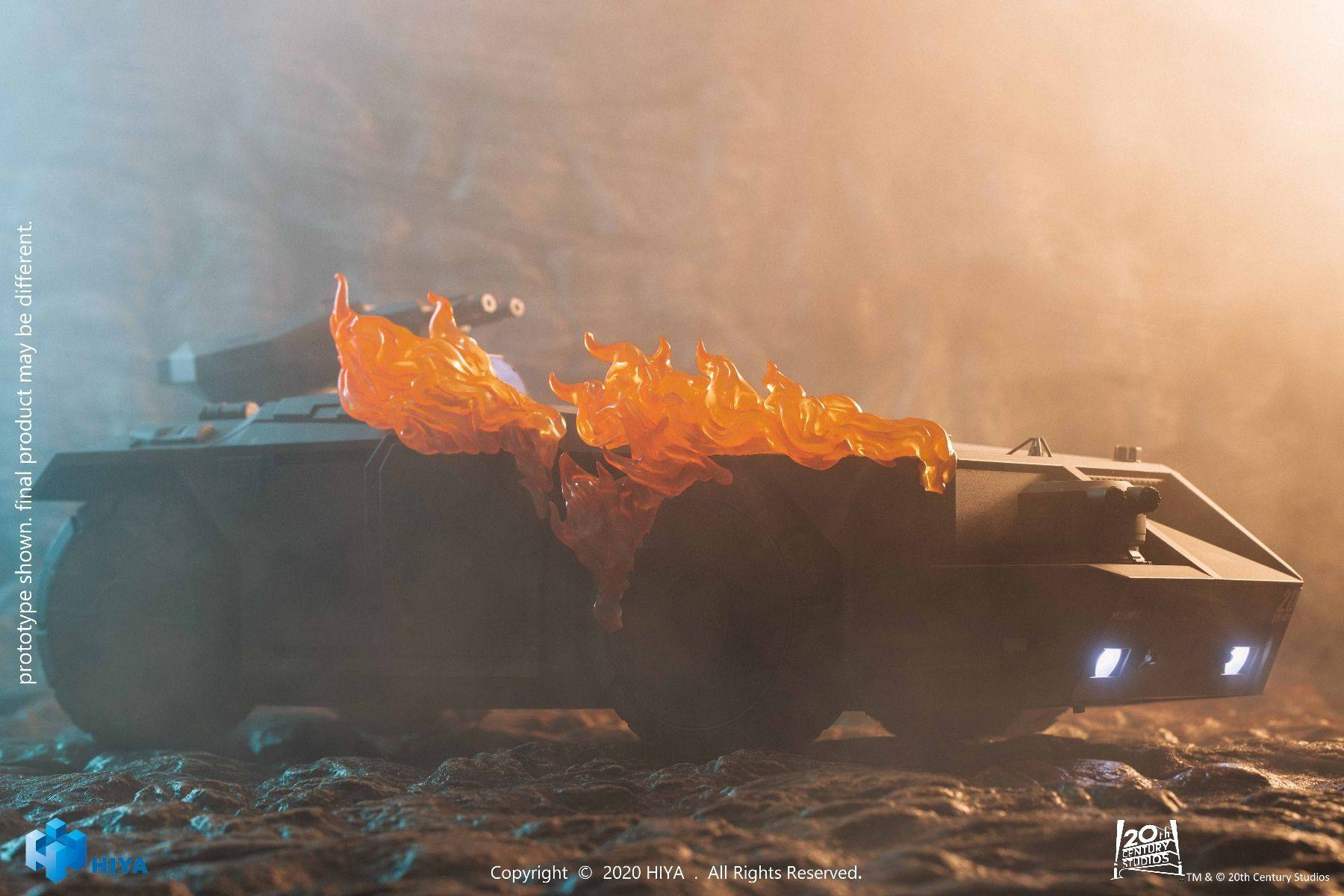 ALIENS: Burning Armored Personnel Carrier (1:18 Scale)<BR>PRE-ORDER: ETA Q3 2021