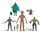 Hasbro: Guardians of the Galaxy - Five Figure Set (1:12)