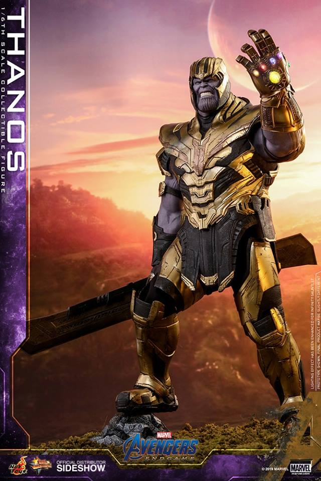1//12 Thanos Weapon Double-edged Broadsword Model Avengers 4 F 6/'/' Action Figure
