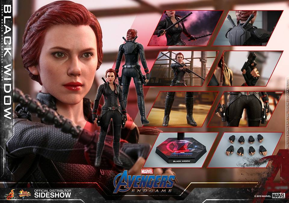 JXtoys Avengers Black Widow Natasha Romanoff Scarlett Johansson headsculpt