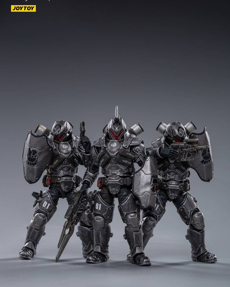 Battle for the Stars Series: 1st Legion - Steel (1:18 Scale)<BR>PREORDER: ETA Q2 2021