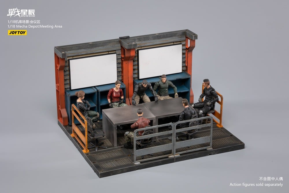 Mecha Depot: Meeting Area (1:18 Scale)<BR>PREORDER: ETA LATE Q2 2021