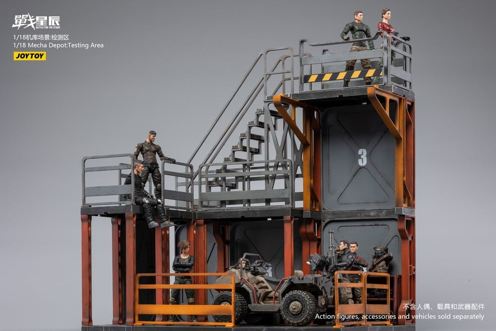 Mecha Depot: Testing Area (1:18 Scale)<BR>PREORDER: ETA LATE Q2 2021