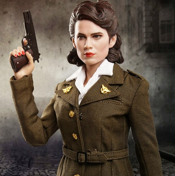 US Army Air Force Female Officer Peggy<BR>PRE-ORDER: ETA Q3 2019