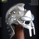 Helmet: Roman Gladiator (with Display Stand)