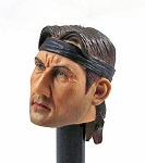 Gladiator Head Sculpt Version 1 (Long hair & Headband)<BR>