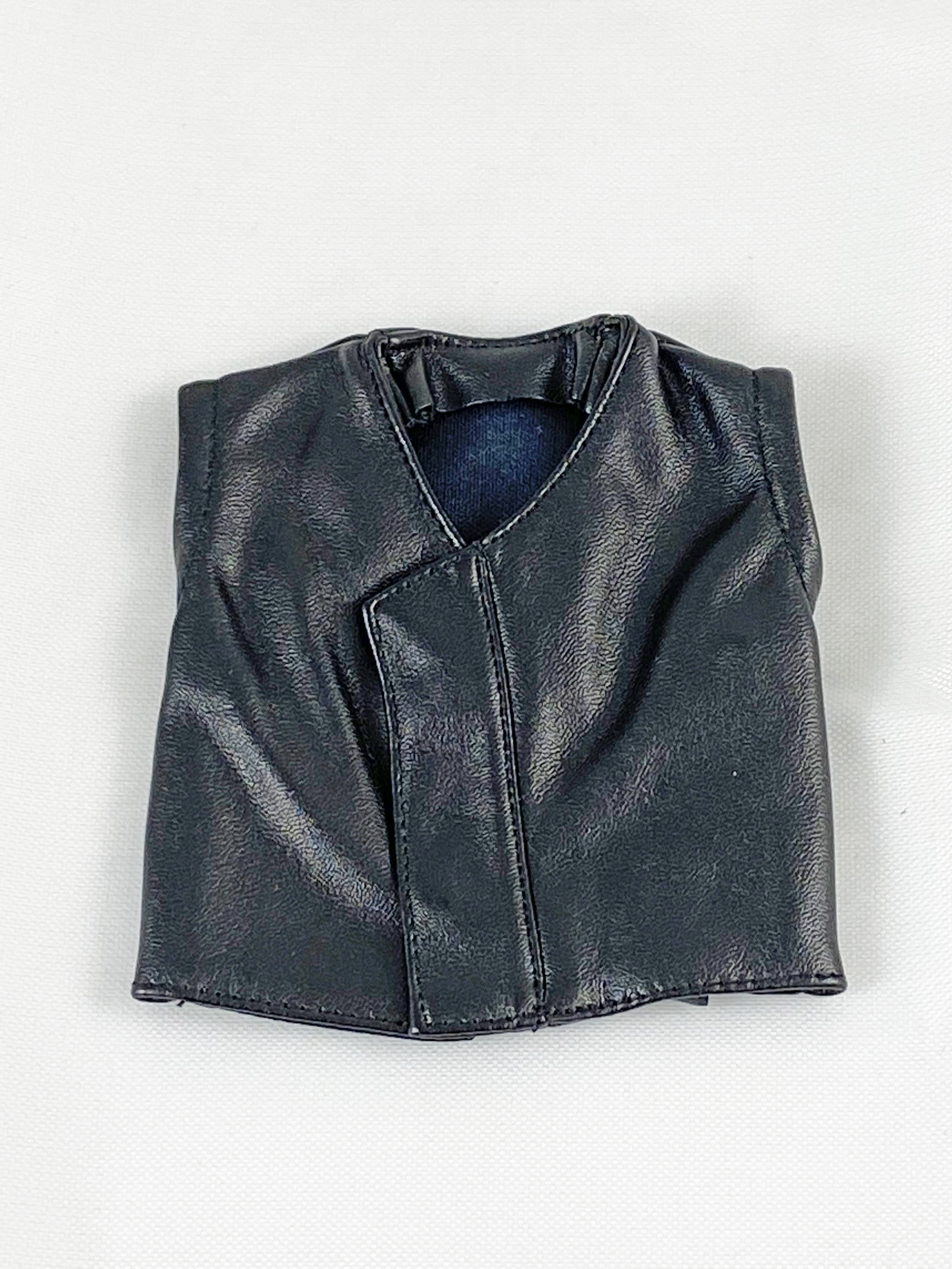 Leather Vest (Black)