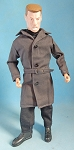 Men's Trench Coat (Gray)