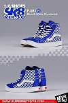 Sk8 Shoes (Blue Checkered)<br><b>Save $7!!</b>