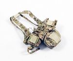 Chest Rig with Add-On Pouch (MultiCam)