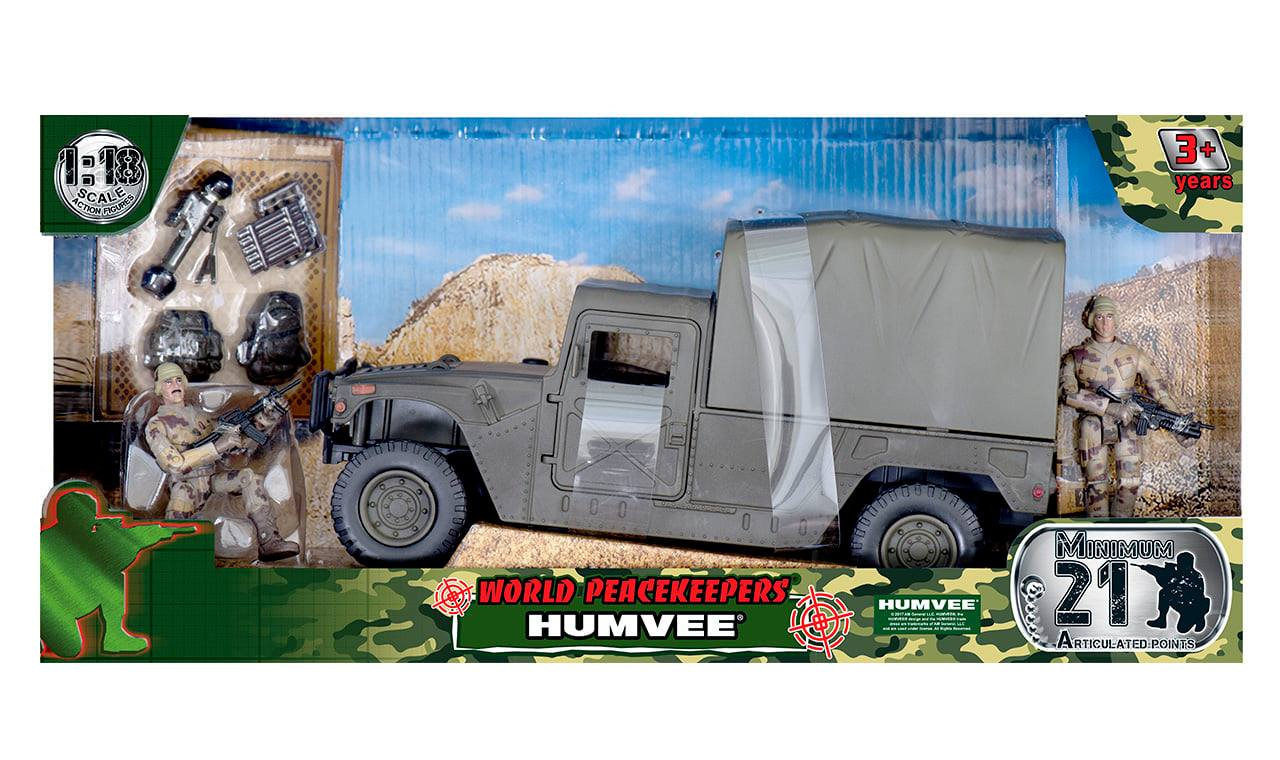 Humvee - Covered Top (1:18 Scale)<BR>PRE-ORDER: ETA Q2 2021