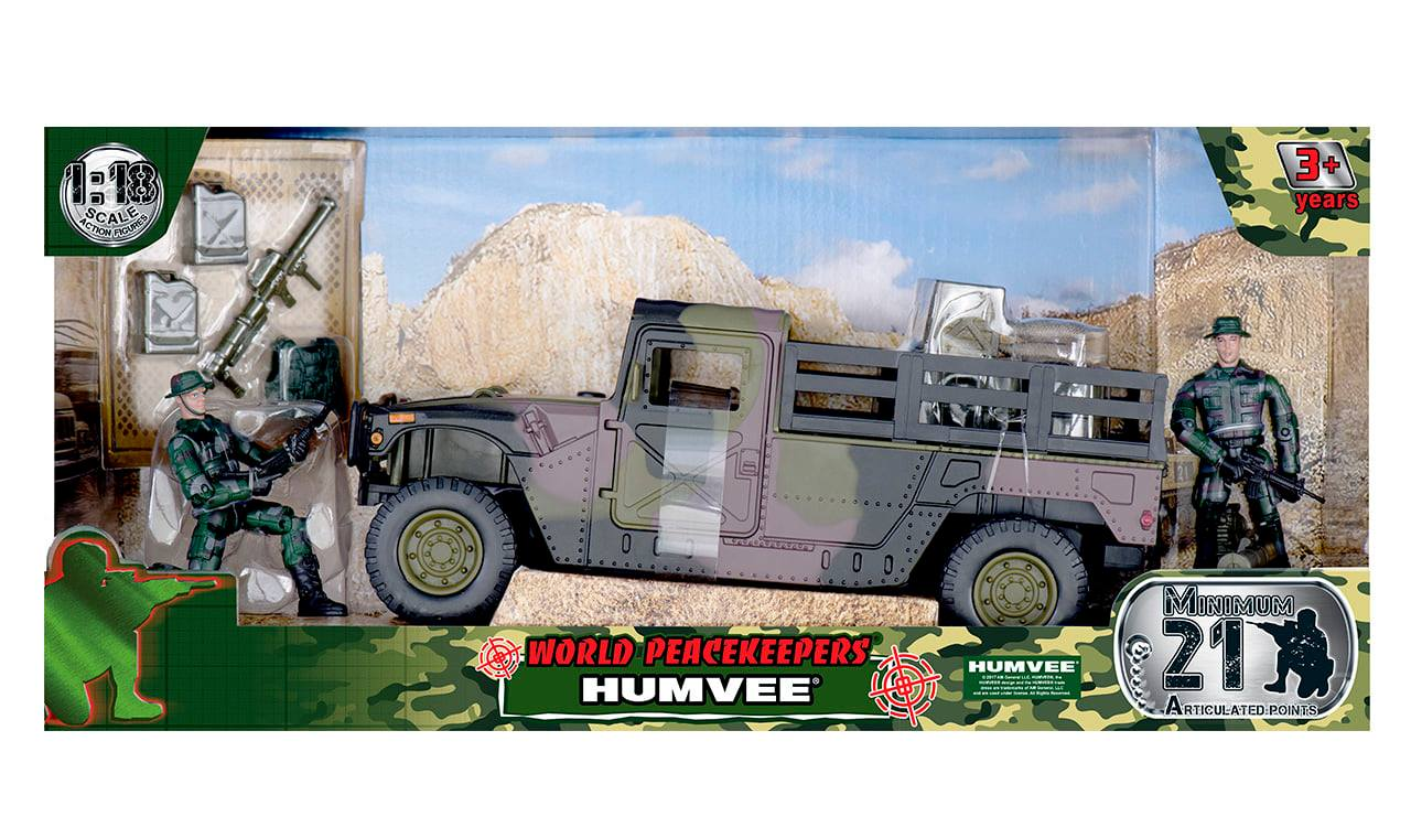 Humvee - Uncovered (1:18 Scale)<BR>PRE-ORDER: ETA Q2 2021