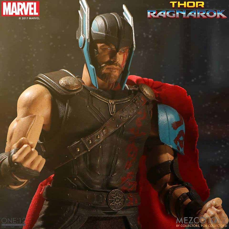 One 12 Collective Ragnarok Thor 1 12 Scale Chris Hemsworth Mezco 76610