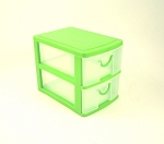 Two Tier Drawer Organizer (Green)