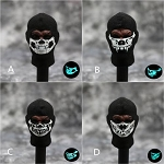 Luminous Skull Balaclavas (Set of 4)