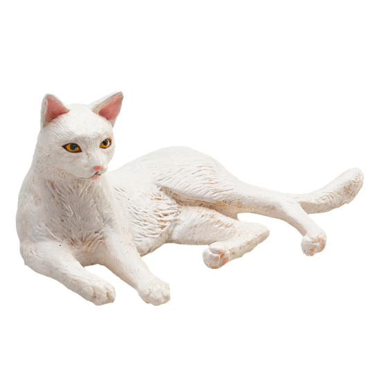 Cat (Lying White)<BR>PRE-ORDER: ETA Q4 2019
