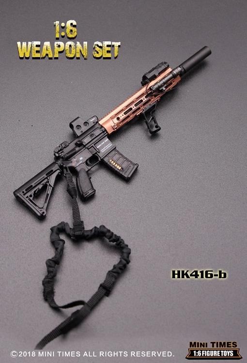 HK-416 Weapon Set (B)