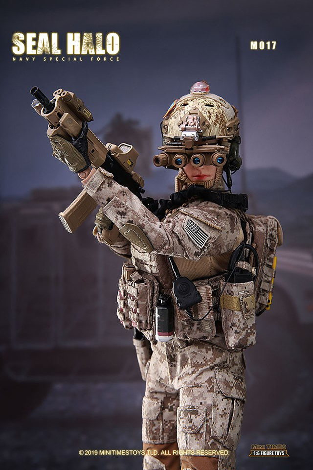 Female US Navy SEAL HALO<BR>PRE-ORDER: ETA Q3 2019