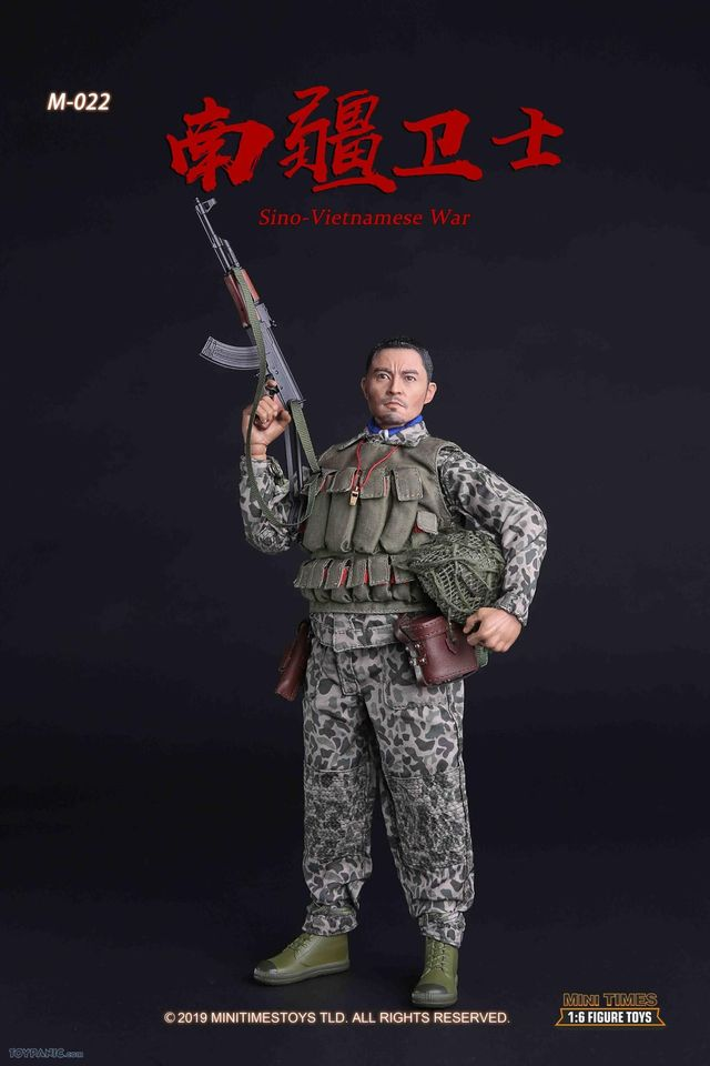 Mini Times Action Figures PLA Sino-Vietnamese War Bare Hands x6-1//6 Scale