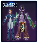 Heroes of the Storm<BR>Illidan & Nova<br>(1:10 Scale)