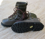 Hiking Boots (Green/Brown)<BR>