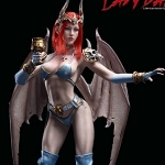 Lady Bat (2018 SHCC Exclusive)<BR>PRE-ORDER: ETA Q4 2018