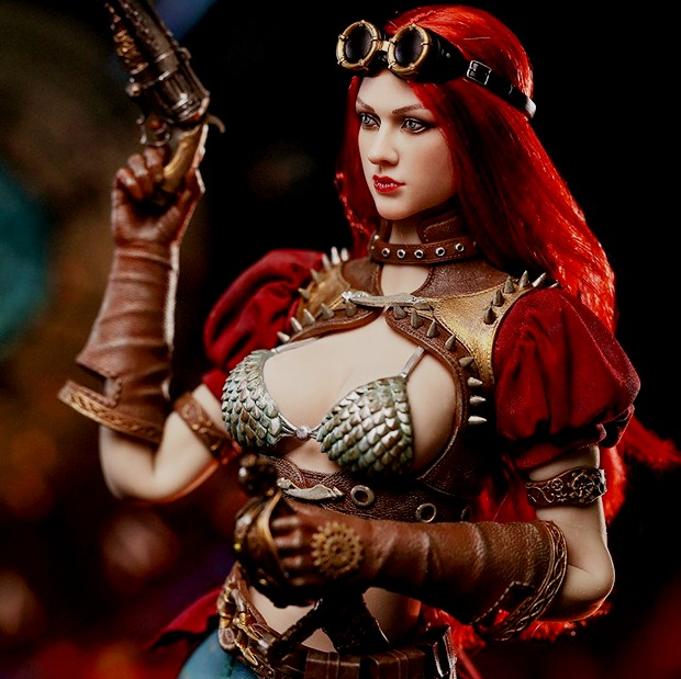 Steam Punk Red Sonja (Classic Version)<BR>PRE-ORDER: ETA Q3 2019