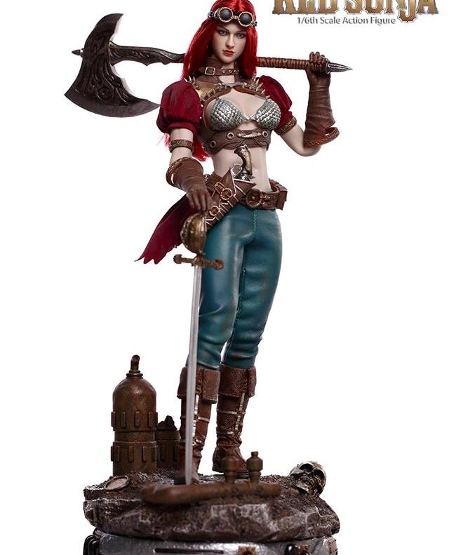 Steam Punk Red Sonja (Deluxe Version)<BR>PRE-ORDER: ETA Q3 2019