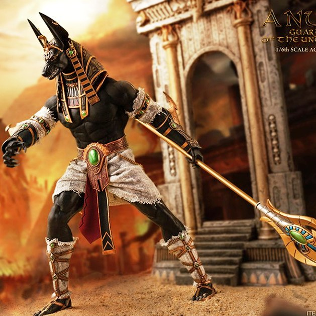 Anubis: Guardian of The Underworld<BR>PRE-ORDER: ETA Q4 2019