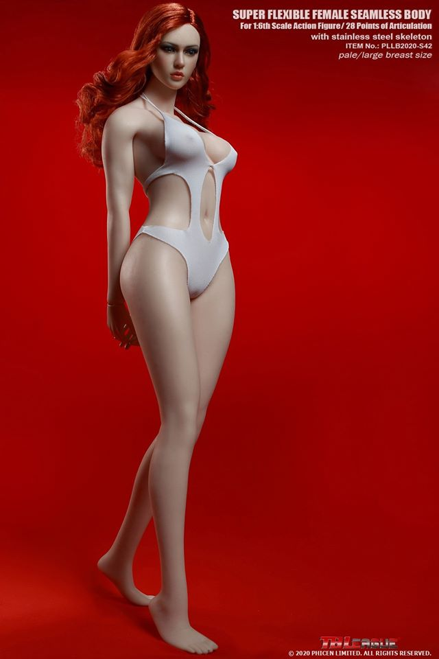 Robust Female Seamless Figure (Pale)<BR>PRE-ORDER: ETA Q4 2020