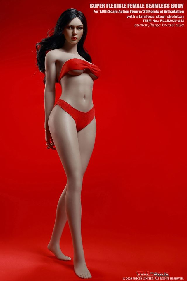 Robust Female Seamless Figure (Suntan)<BR>PRE-ORDER: ETA Q4 2020