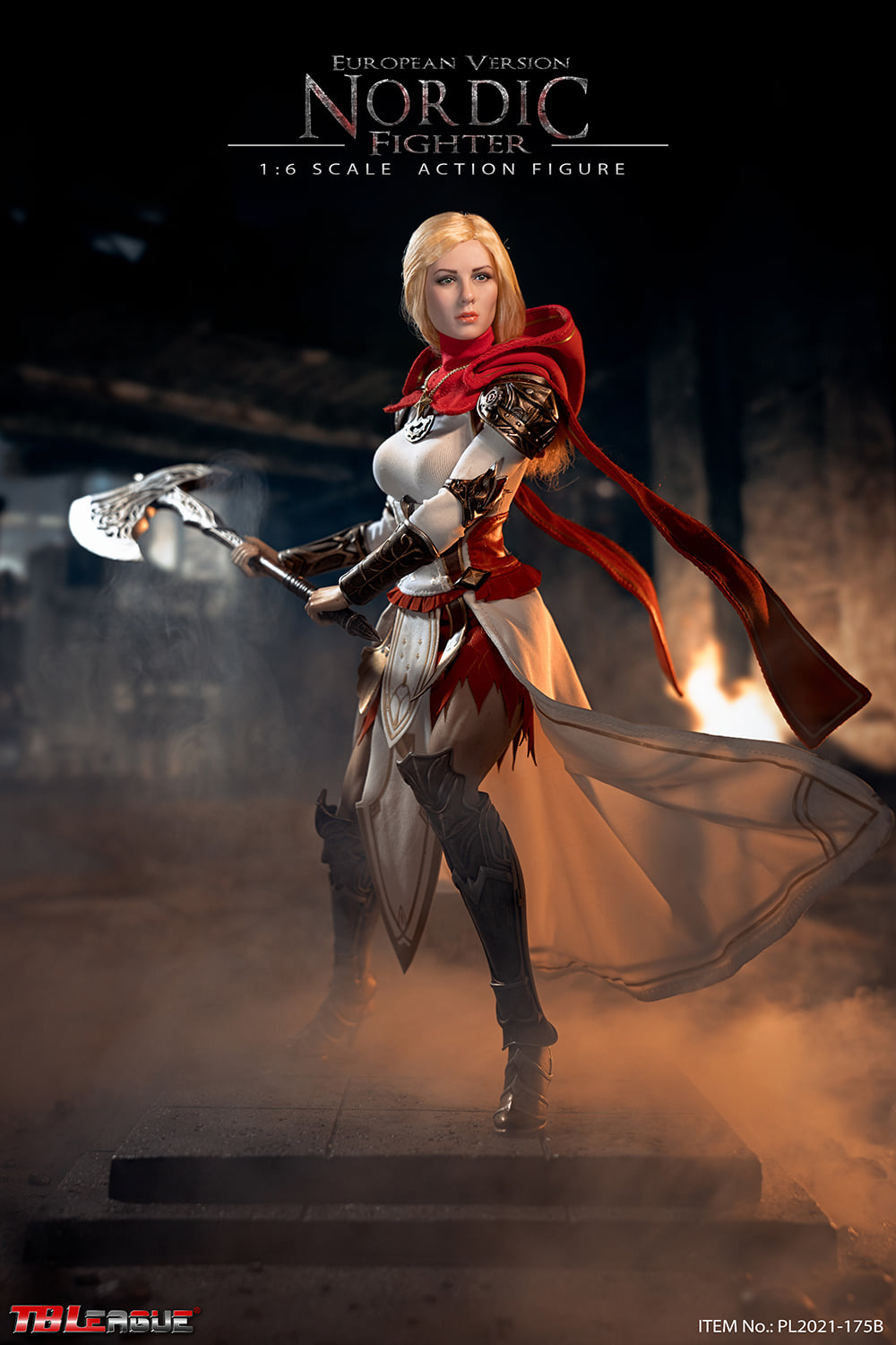 Female Nordic Warrior (European Version)<BR>PRE-ORDER: ETA Q3 2021