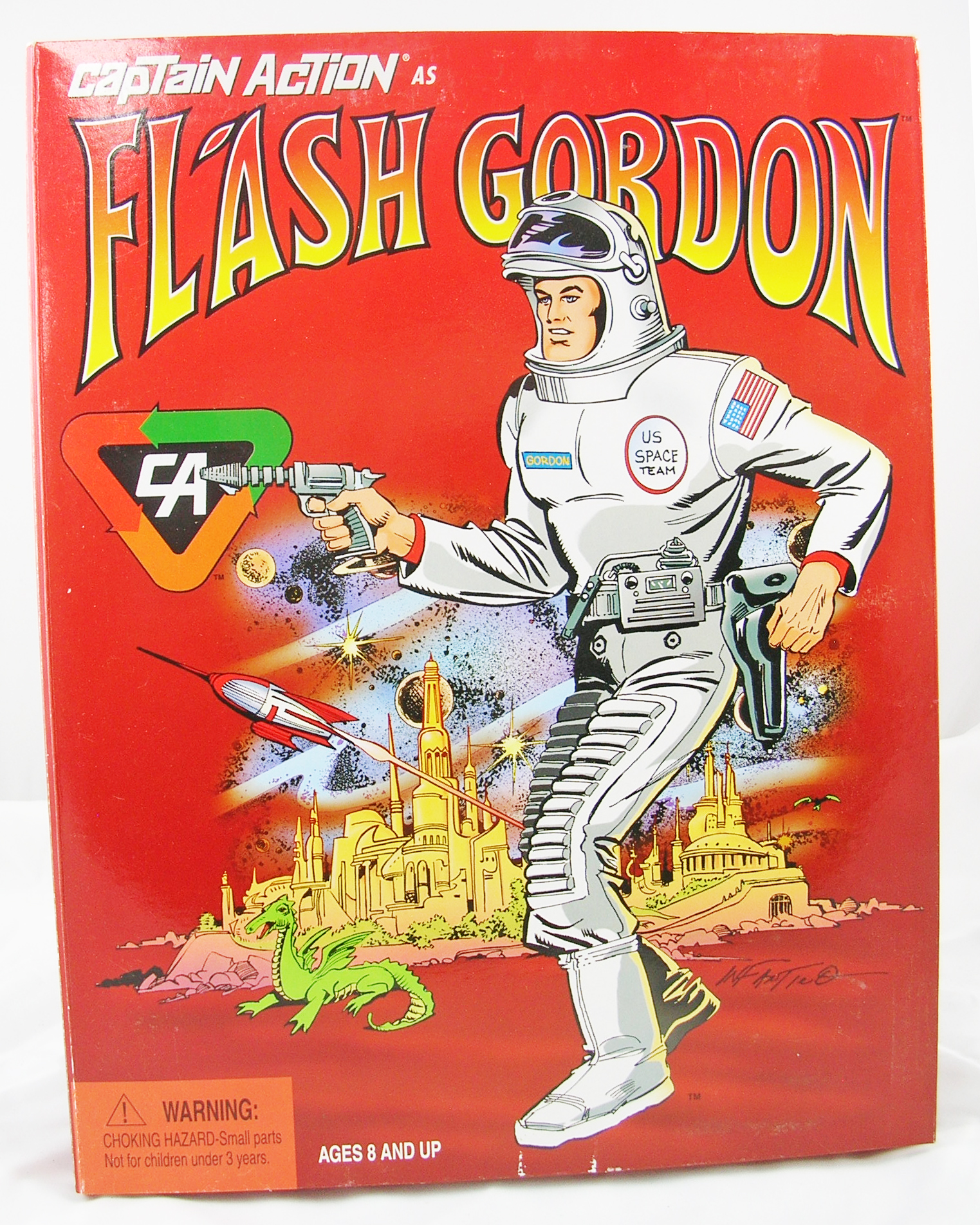 Captain Action as Flash Gordon