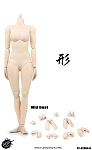 Super Flexible Female Body<BR>Pale Skin<BR>Medium Bust<BR>BACK ORDER