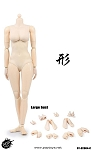 Super Flexible Female Body<BR>Pale Skin<BR>Large Bust<BR>BACK ORDER
