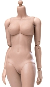 Super Flexible Female Body<BR>Sun Tan - Large Bust